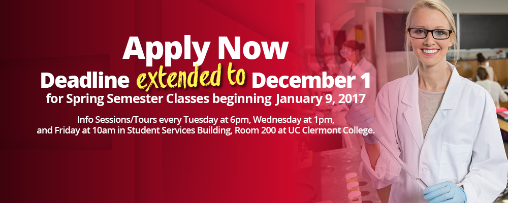Apply now for Spring Semester 2017. Spring Semester begins January 9, 2017! Attend an info session/tour every Tuesday at 6pm, Wednesday at 1pm or Friday at 10am.
